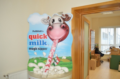 Dyntell P@rtner ERP is used to track Quick Milk Magic Milk ingredients as it goes through production