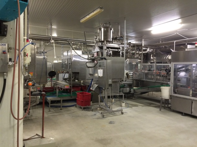 Fino Food milk processing plant - P@rtner ERP tracks the milk products as they go through the processing. Signals automatic replenishment when supplies run low and can automatically re-order using B2B.