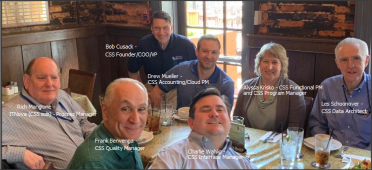 CSS Enterprise Budgeting System Team
